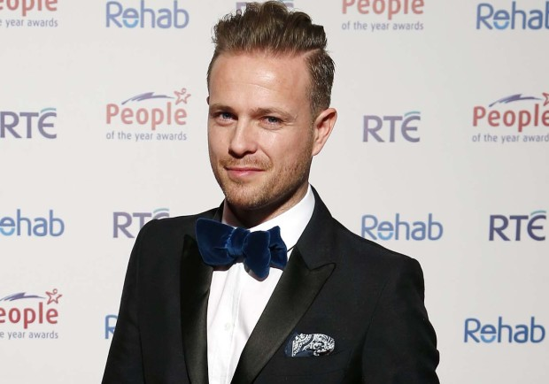 Nicky Byrne pour l'Irlande