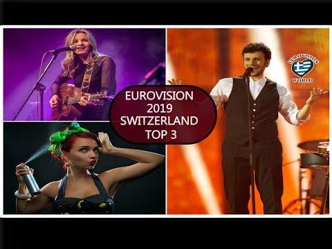 Sélection suisse 2019:  les 3 candidats de la RSI chantent en direct !