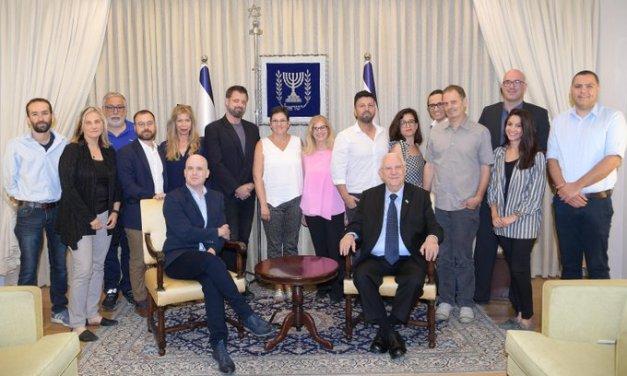 Eurovision 2019 : la production reçue par le président Rivlin