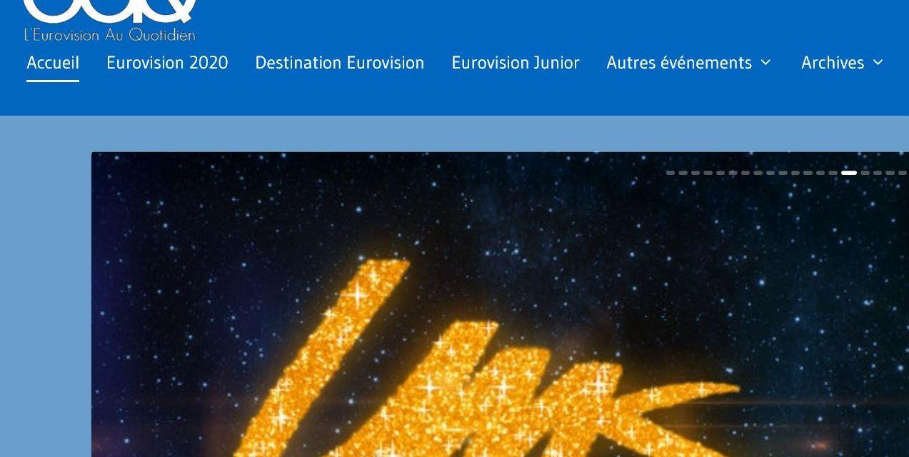 L'Eurovision Au Quotidien change d'apparence