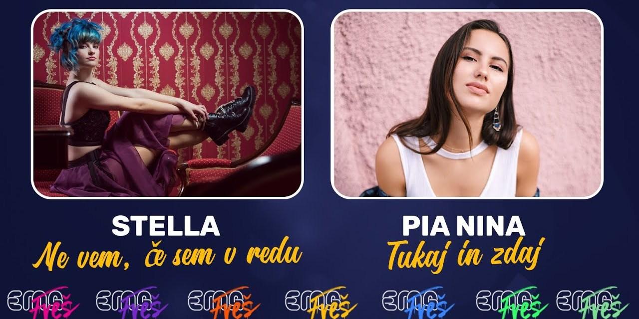 Slovénie 2020 – EMA FREŠ : Stella ou Pia Nina ? [Mise à jour: Stella remporte le duel 1]