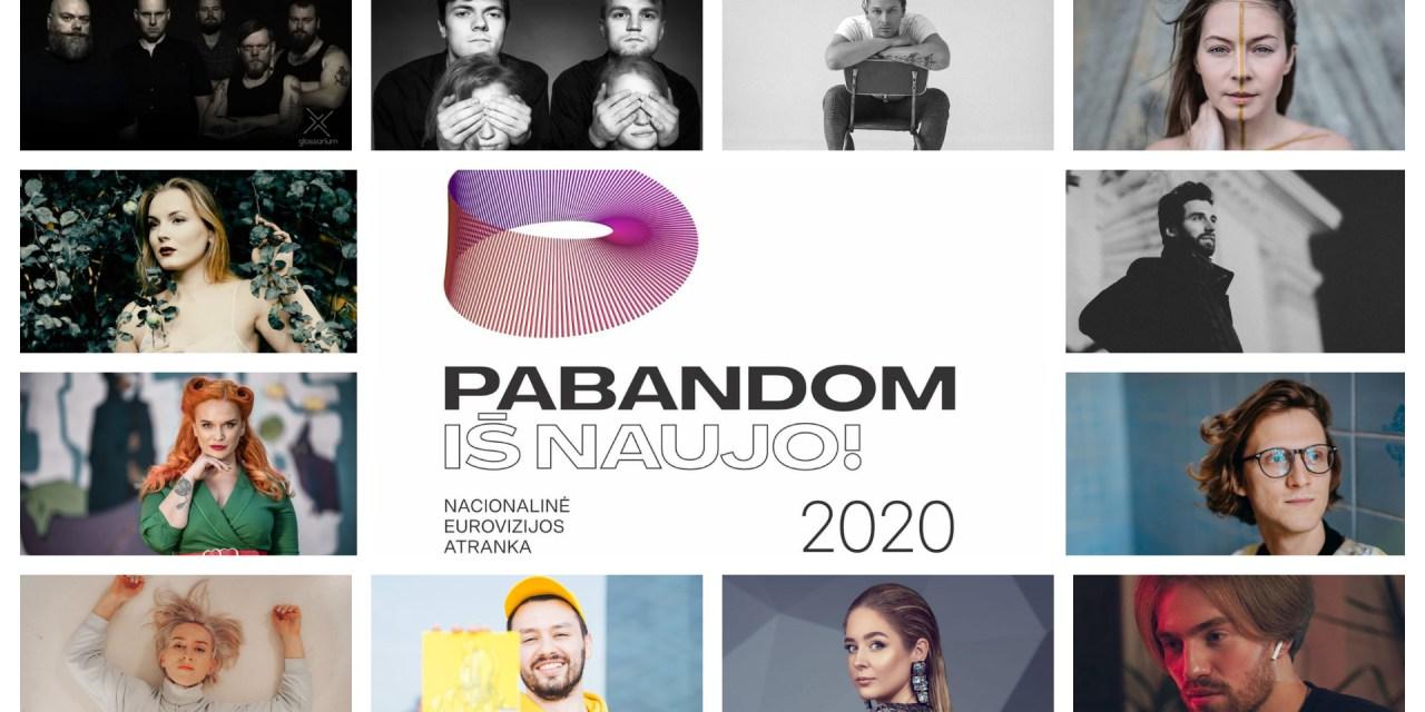 Ce soir : première éliminatoire de l'Eurovizijos atranka (Mise à jour : résultats)
