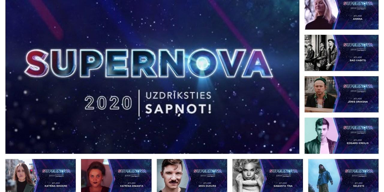 Supernova 2020 : annonce des neuf finalistes (Mise à jour : annonce des présentateurs)