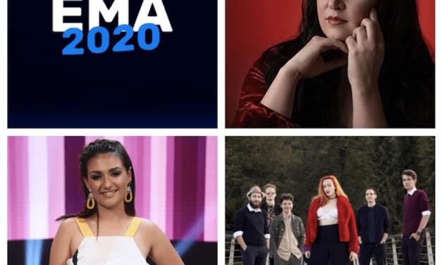 EMA 2020 : Portraits des artistes #4