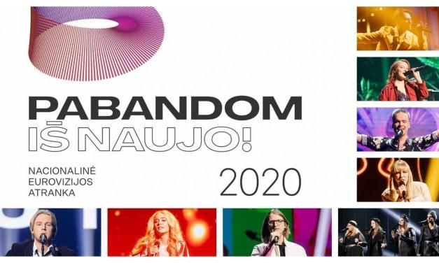 Ce soir : deuxième demi-finale de l'Eurovizijos atranka (Mise à jour : résultats)