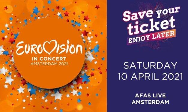 Eurovision in Concert 2020 : date et lieu (Mise à jour : report en avril 2021)