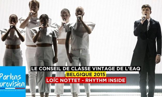 Le conseil de classe vintage : Belgique 2015