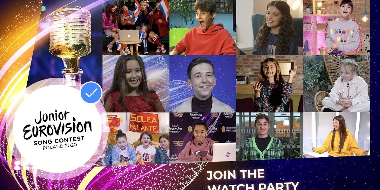 Cet après-midi : rediffusion de l'Eurovision Junior 2019