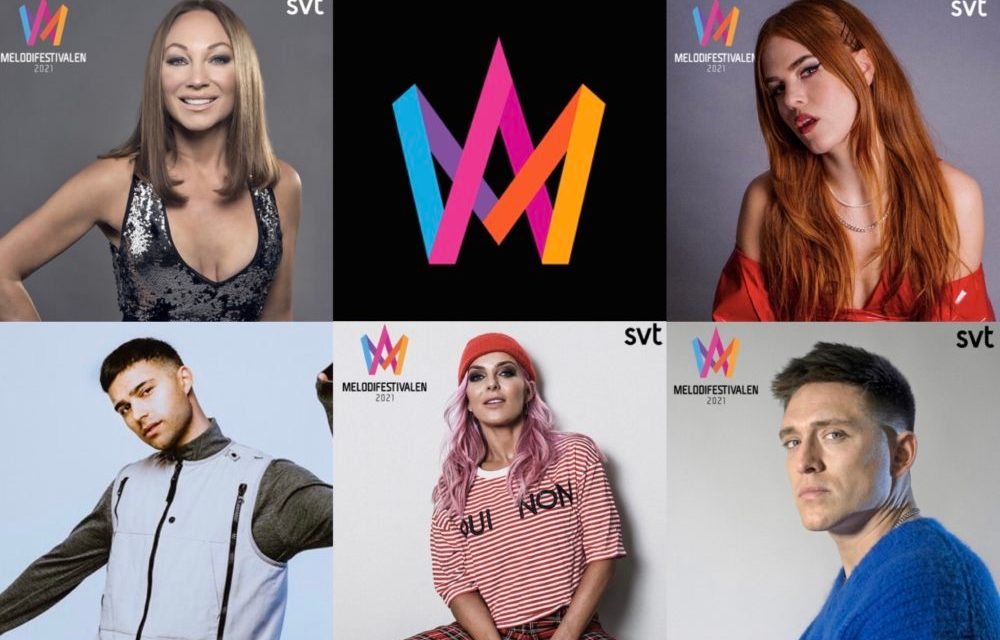 Melodifestivalen 2021 : annonce des 28 participant.e.s