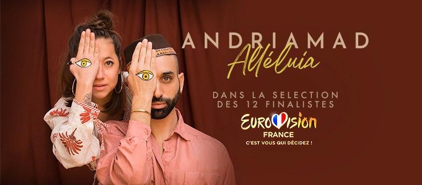 Eurovision France, c'est vous qui décidez : interview d'Andriamad