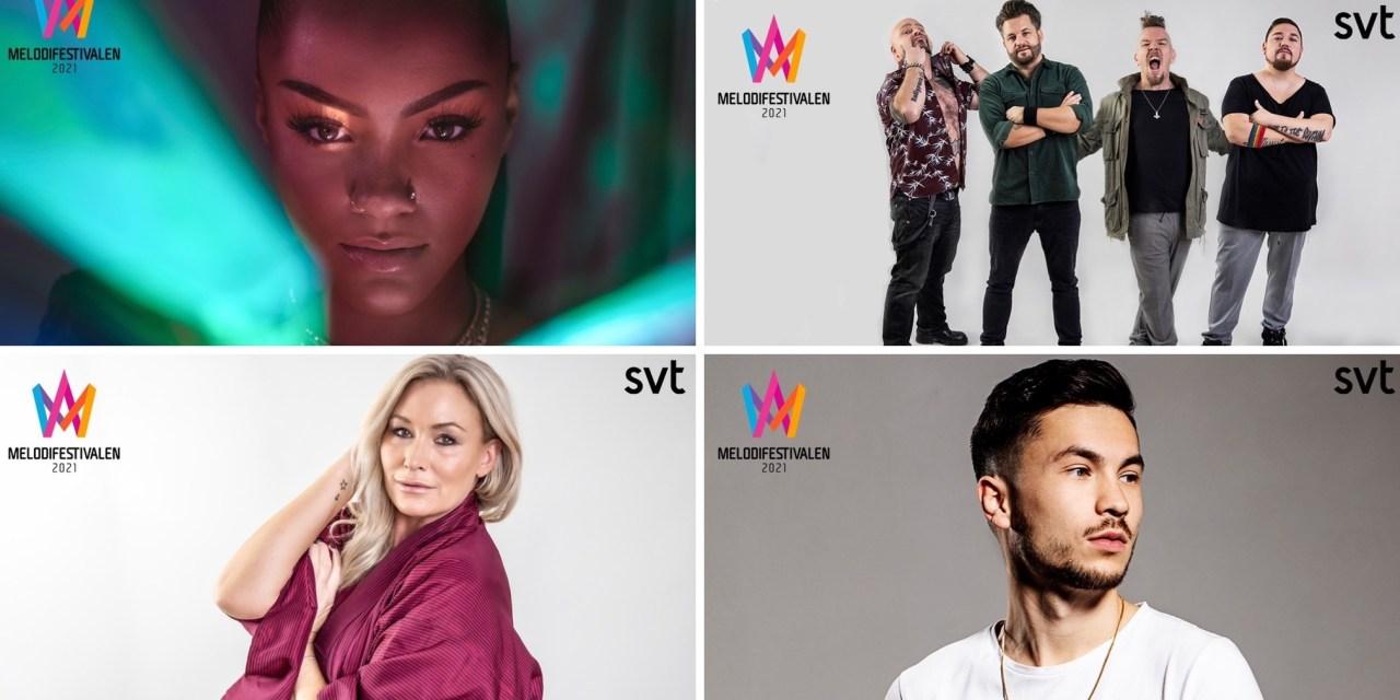 Melodifestivalen 2021 – 1ère demi-finale : portraits des candidat.e.s (1/2)