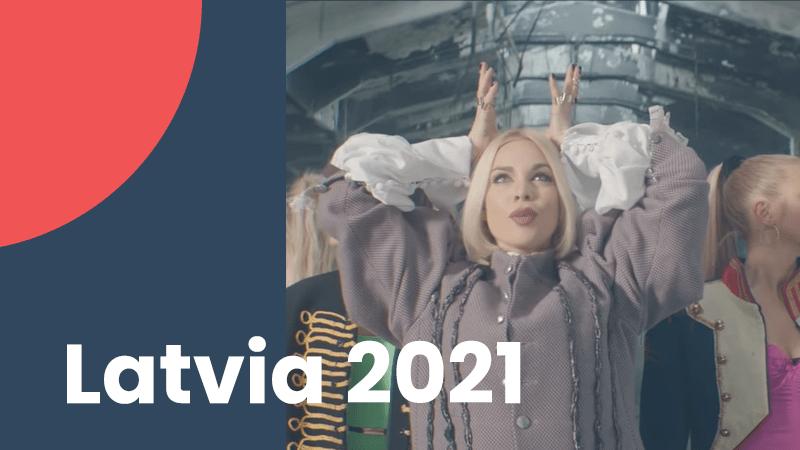 Latvia 2021 – Samanta Tina – The Moon is Rising