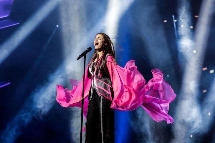 Belarus at Junior Eurovision. Image source: Thomas Hanses | EBU