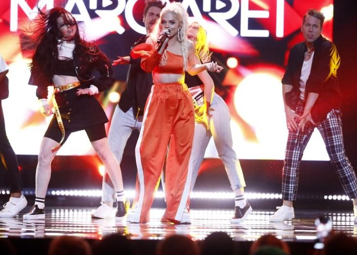 Margaret, Melodifestivalen. Photo: Robin Lorentz-Allard