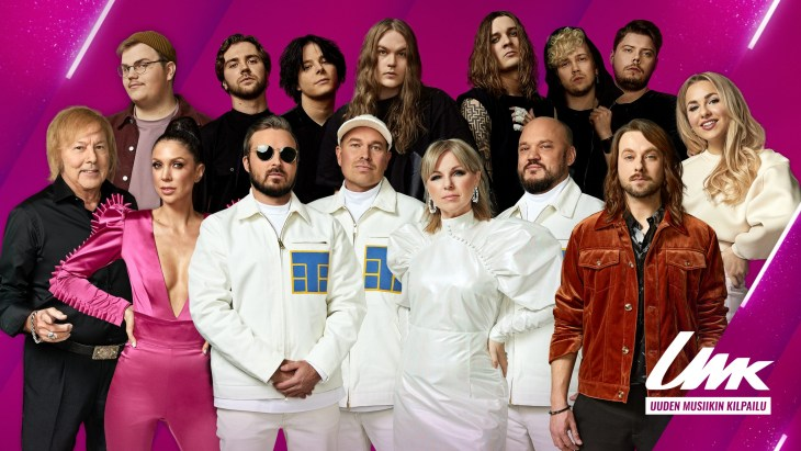 UMK 2021 artists, Finland. Image source: YLE / Mona Salminen / Milla Määttä
