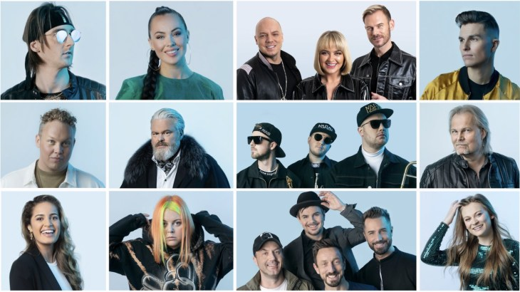 Melodi Grand Prix 2021, Norway. Image source: NRK