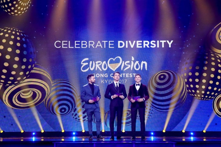 Eurovision 2017 hosts