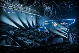 The Eurovision 2021 stage