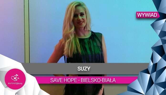 Suzy przed koncertem SaveHope