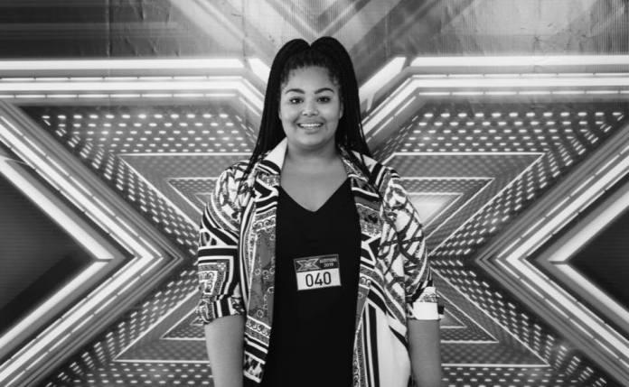 Destiny Chukunyere na castingu do X-Factora (fot: media społecznościowe artystki)