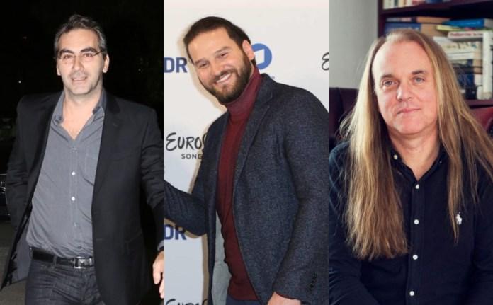Dimitris Kontopoulos, Borys Miłanow i Thomas G:son - eurowizyjna piosenka stała się dla nich źródłem utrzymania.