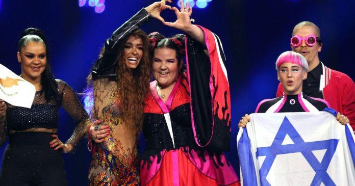 Eurowizja 2018 Netta Eleni Foureira