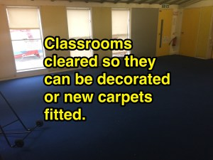 classroom removals clearance