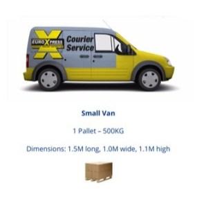 small van deliverys