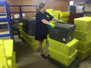 Dilapidation warehouse clearance