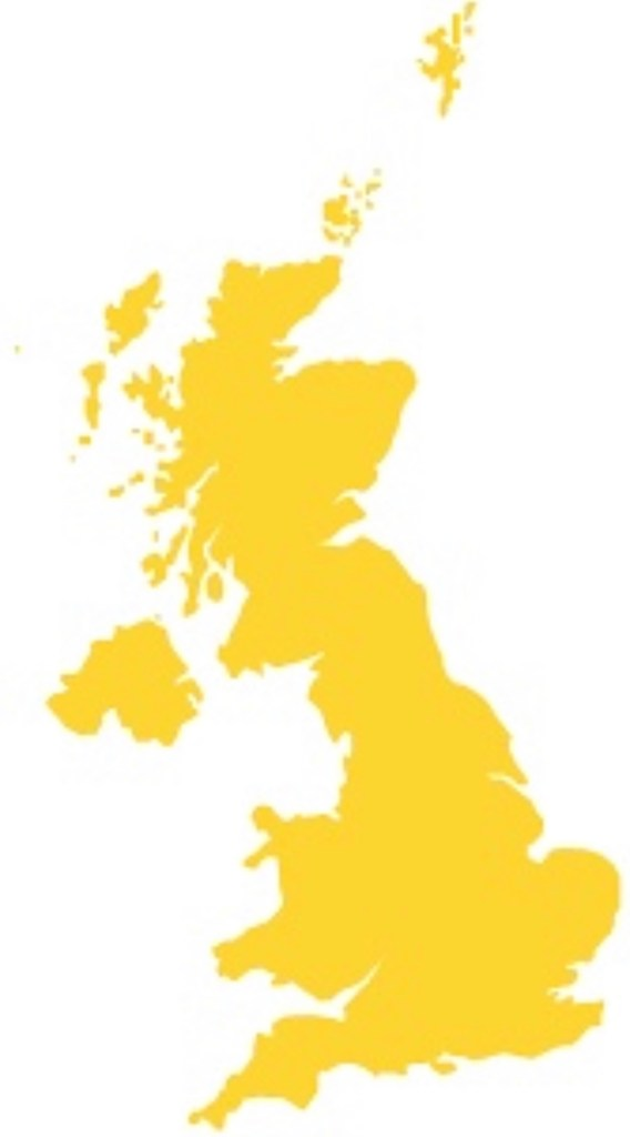Map UK Removals and islands Coverage