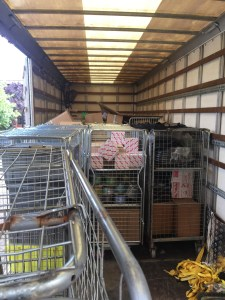 Wholesale warehouse removals