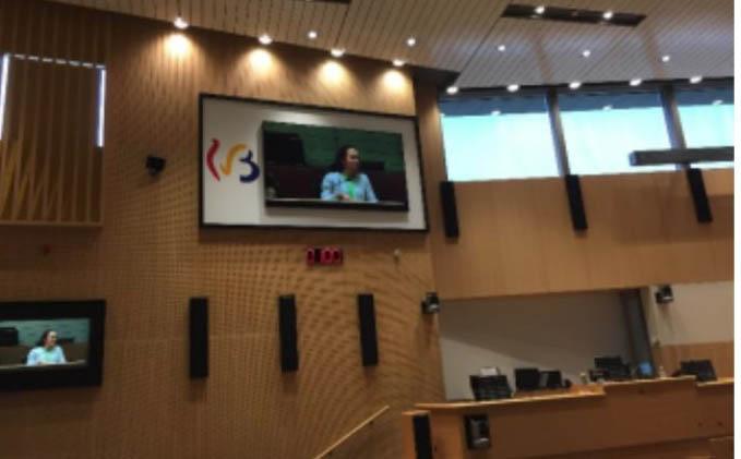Proposition d'un texte de loi au Parlement de la Fédération Wallonie-Bruxelles