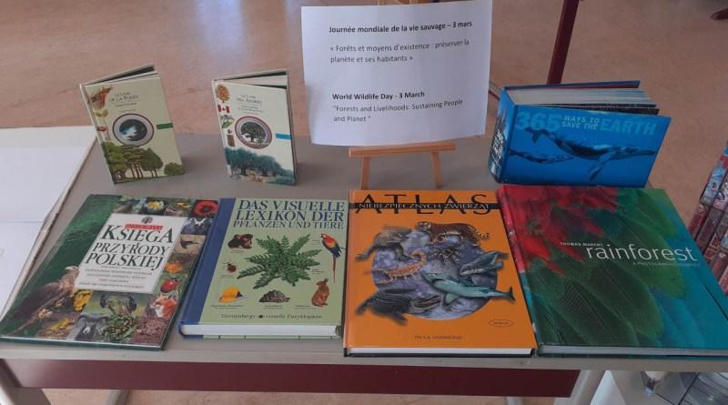 Journée mondiale de la vie sauvage à la bibliothèque de S1-S3