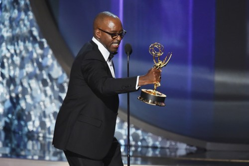 Actor Courtney B. Vance accepts Outstanding Lead Actor in a Limited Series or Movie for 'The People v. O.J. Simpson: American Crime Story' onstage during the 68th Annual Primetime Emmy Awards at Microsoft Theater on September 18, 2016 in Los Angeles, California.