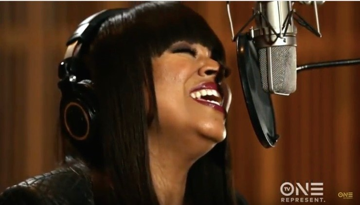 """Shanice on TV One's """"Unsung Live"""""""