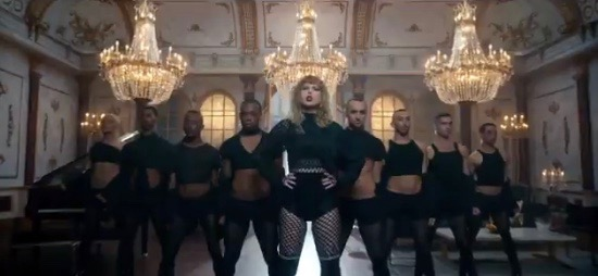 """Scene from Taylor Swift's teaser for """"Look What You Made Me Do"""""""