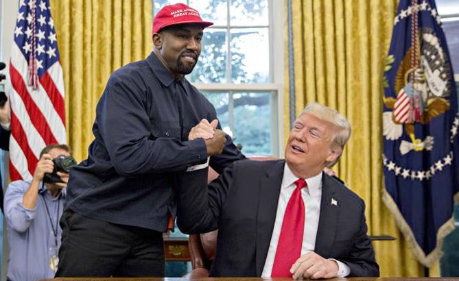kanye west - donald trump - wh