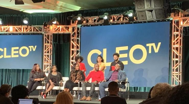 Cast members of various Cleo-TV shows at Winter TCAs in Pasadena