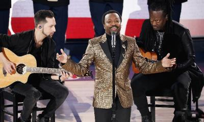 anthony hamilton nba all-star game - GettyImages