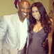 Deion Sanders and Tracey Edmonds.
