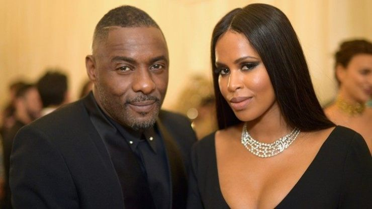 Idris Elba and Sabrina Dhowre2