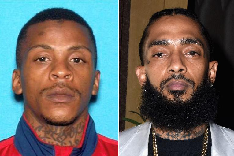 Eric Holder is suspected of shooting and killing Nipsey Hussle