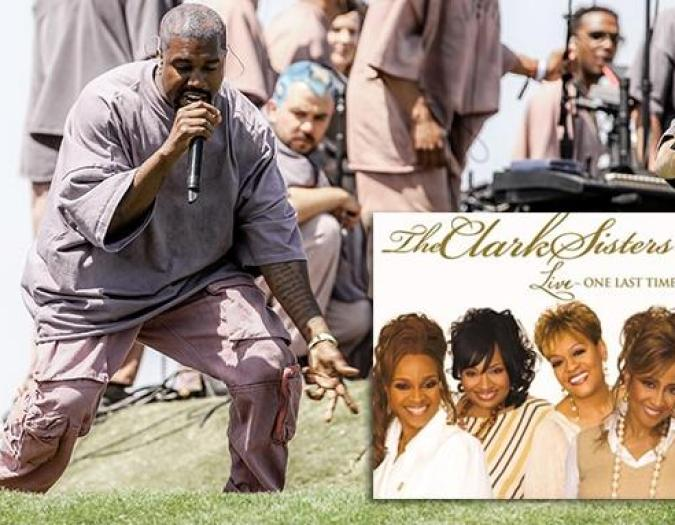 The Clark Sisters Claim Kanye West's 'Sunday Service' Ripped