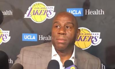 magic johnson - quits lakers - screenshot