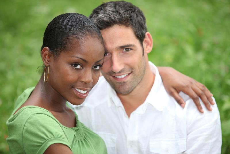 Date interracial woman
