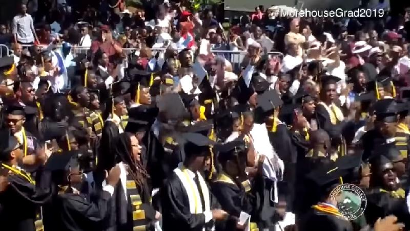 morehouse grad react to robert smith - screenshot