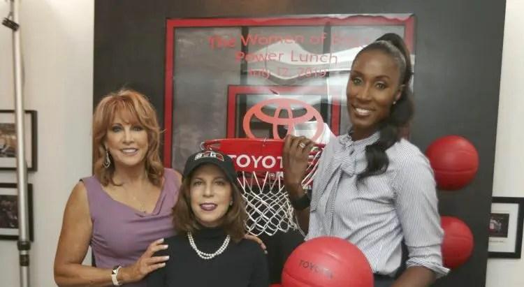 Toyota Honors BIG3 Sports Icons Lisa Leslie, Nancy Lieberman, and