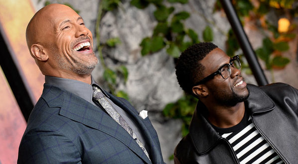 Dwayne Johnson gives an update on Kevin Hart after his auto accident