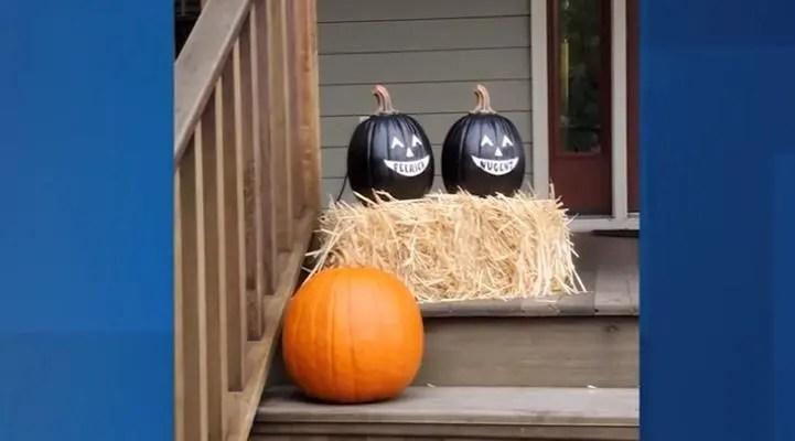 Blackface pumpkins