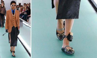 Gucci - anklet (getty)